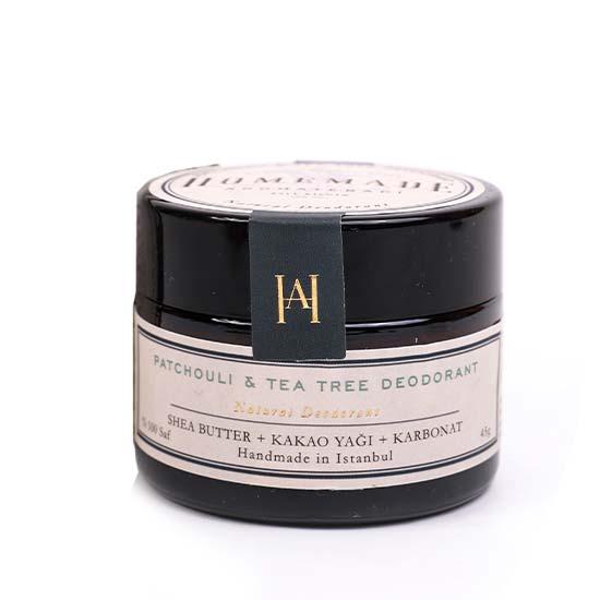 Doğal Deodorant Patchouli Tea Tree 45 gr