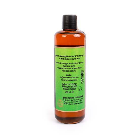 Tatlı Badem Yağı 250 ml Geleneksel