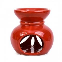 Seramik Buhurdanlık - Kırmızı