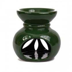 Seramik Buhurdanlık - Koyu Yeşil