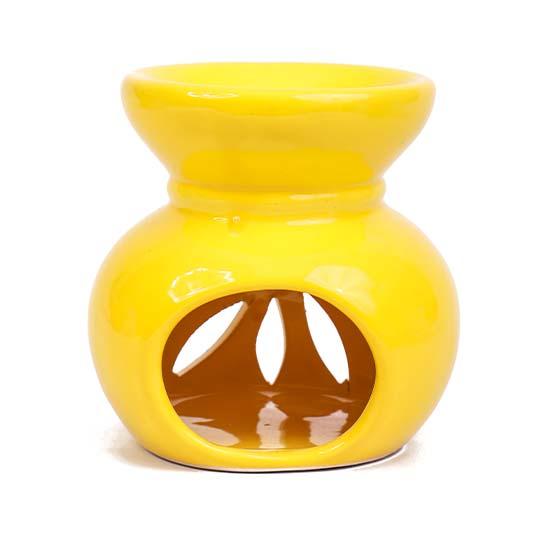 Seramik Buhurdanlık - Sarı