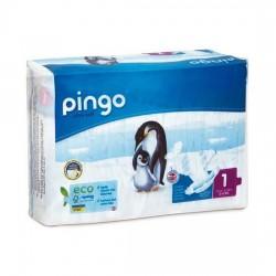 Pingo No 1 Ekolojik Bebek Bezi Yenidoğan (27 adet) (Organik)