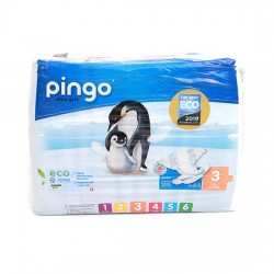 Pingo No 3 Ekolojik Bebek Bezi Midi (44 adet)