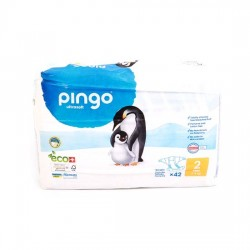 Pingo No:2 Ekolojik Bebek Bezi Mini (42 Adet)