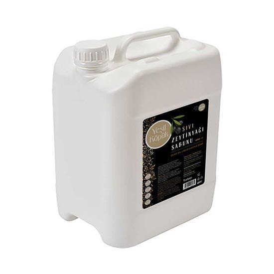 Yeşil Köpük Sıvı Sabun Zeytinyağlı 4 lt
