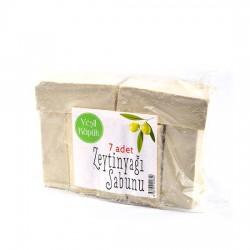 Yeşil Köpük Zeytinyağlı Sabun, açık 150 gr - 7li paket